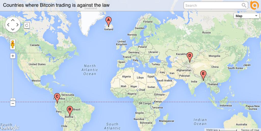in Iceland, Bolivia, Ecuador, Kyrgyzstan, Vietnam and Bangladesh