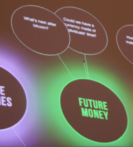 Future Money sign asks what's next after Bitcoin?
