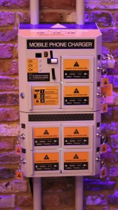 Charge your phone at #Futurefest