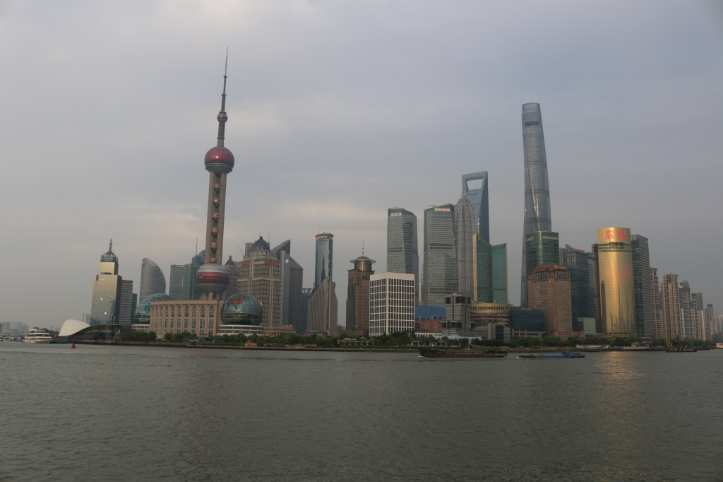 Shanghai's financial district